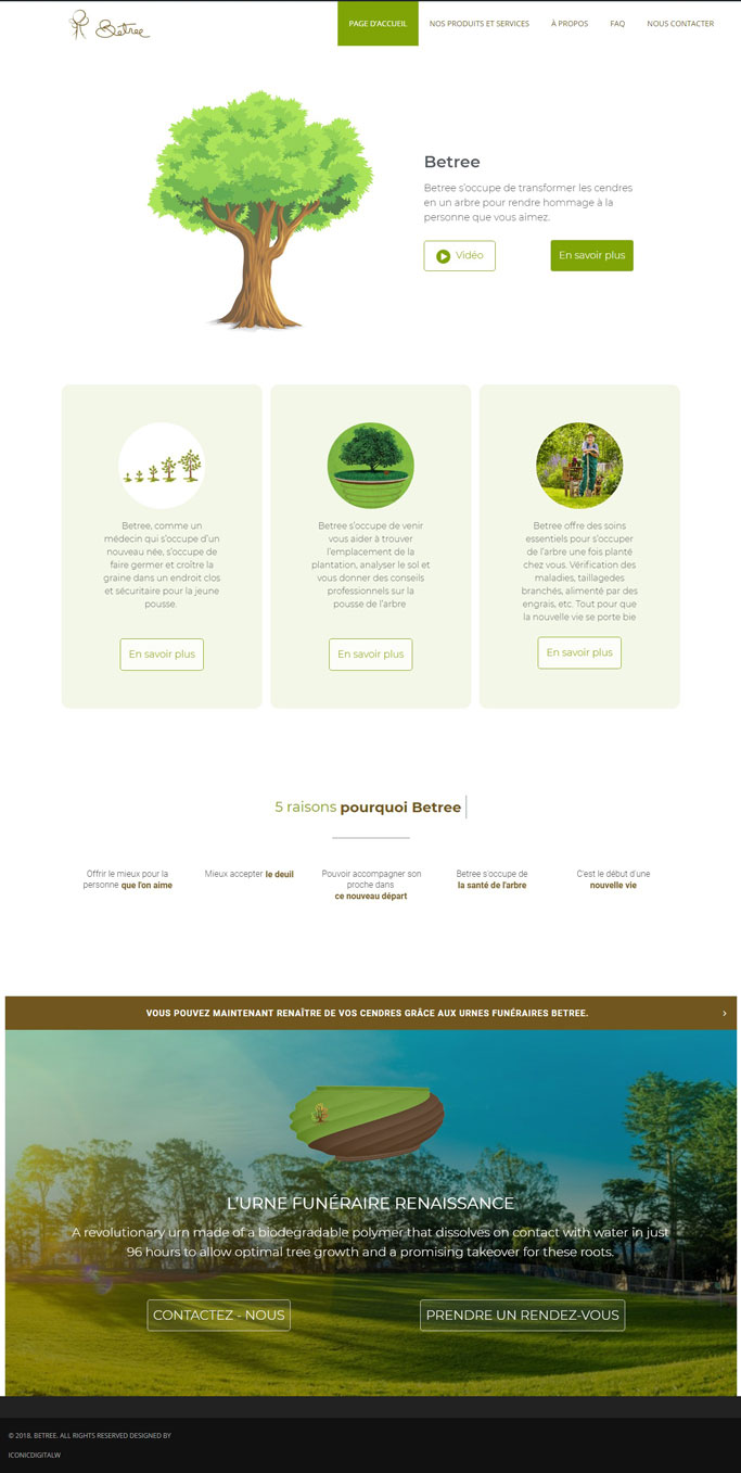 Betree Website