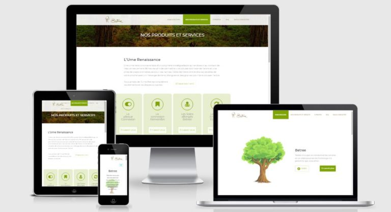 Betree Website Responsive Screenshot