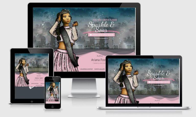 Aripotta Website - Responsive Screenshot