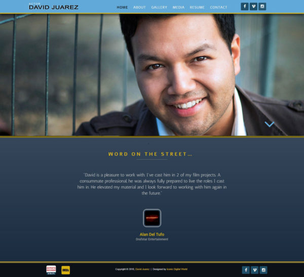 DAVID-JUAREZ Website