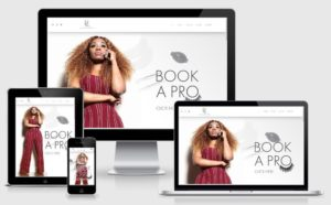 Vanity Life Studio Site responsive Screenshot