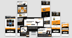 West Coast Martial Arts Website Redesign Site Layout
