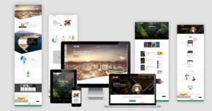 The chaleapp Website Design Responsive Layout