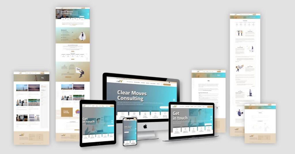 Clear Moves Website Redesign - Mock-