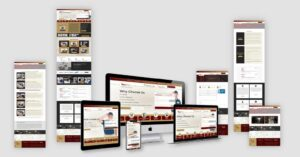 Royal Touch Repairs Website design