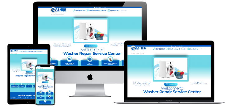 Washer repair center Website Design