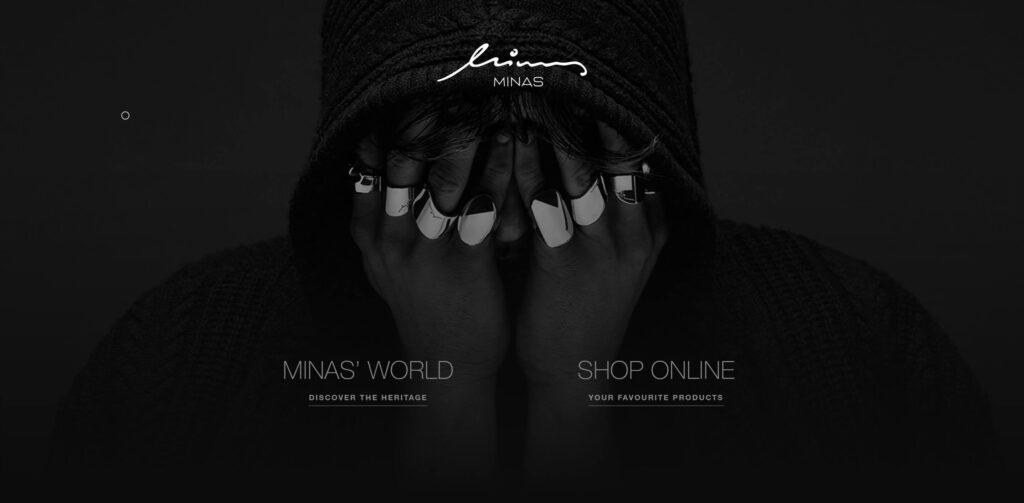 Minas website Design pep