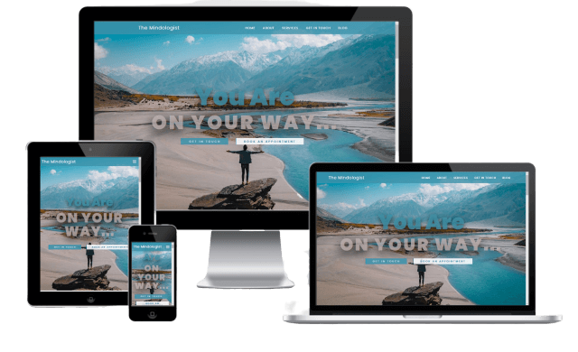 Mindologist Website Design - Responsive