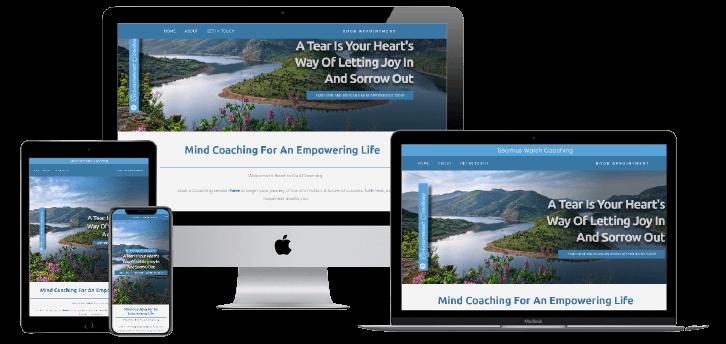 Seamuswalsh Coaching Website Design