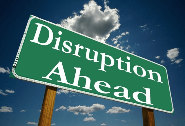become a disruptor