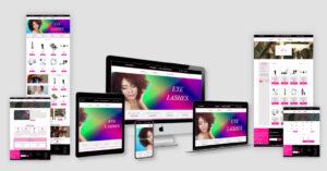 Y.a.a.s Beaute Website design
