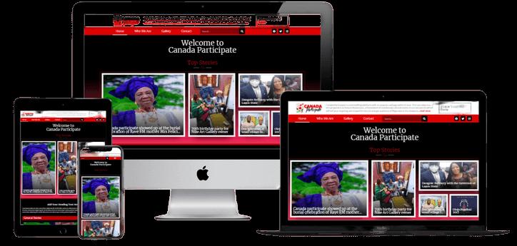 Canada Participate Website Redesign