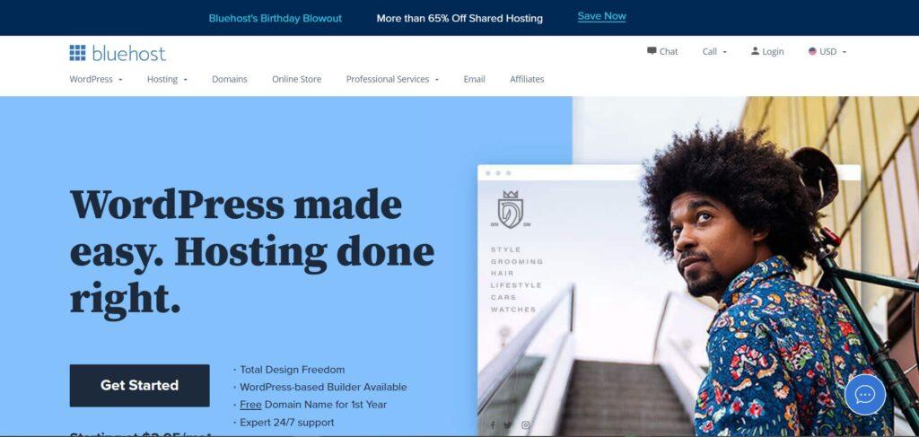 Select a hosting provider