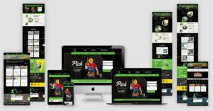 fourleaf property solutions website design