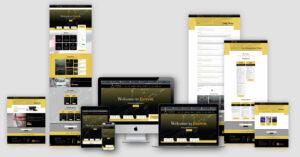 FcEverest Website Design Layout